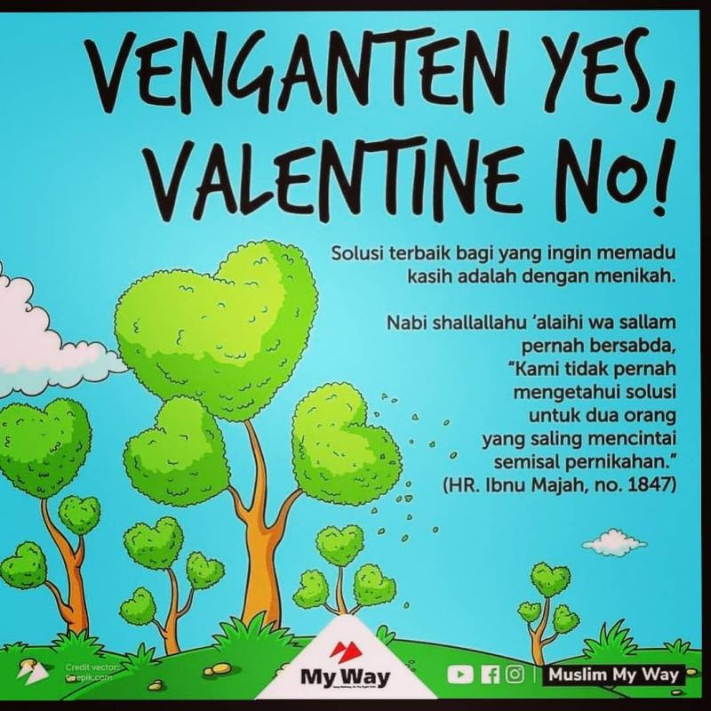 VALENTINE NO VENGANTEN YES