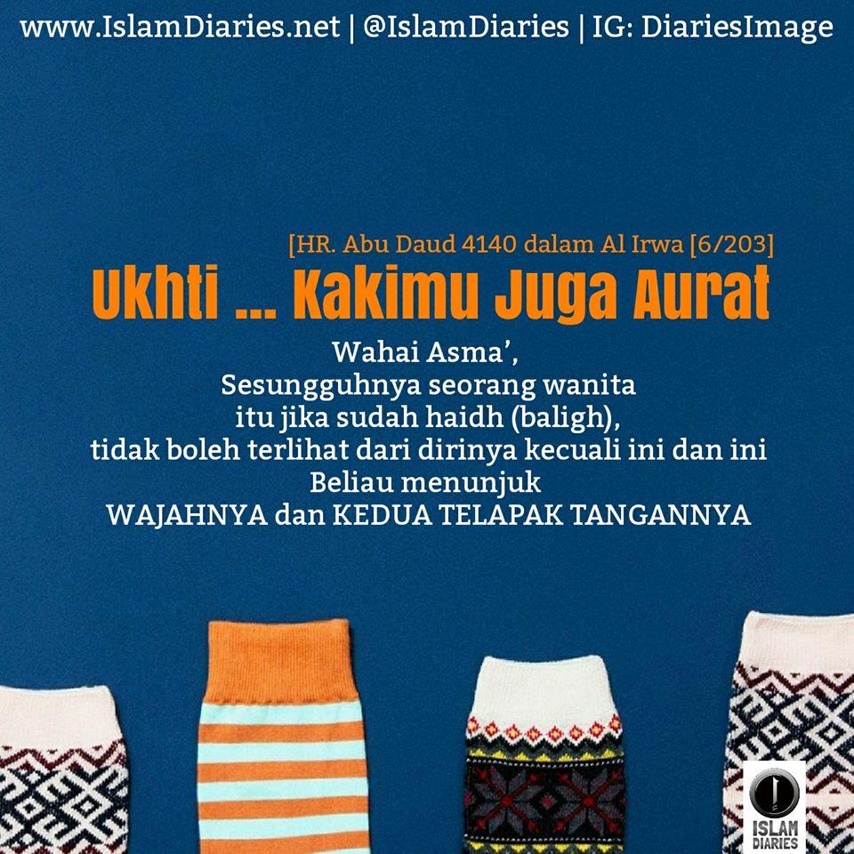 Aurat Hukum Memfoto Kaki Muslimah Berbalut Kaus Kaki