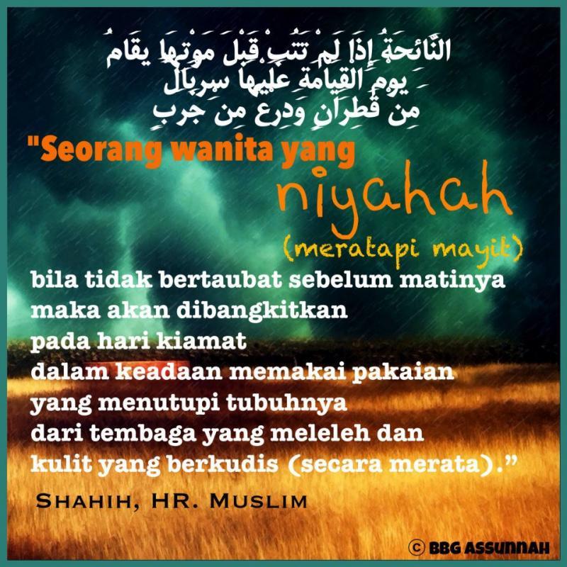 HARAMNYA MERATAPI MAYIT (NIYAHAH)