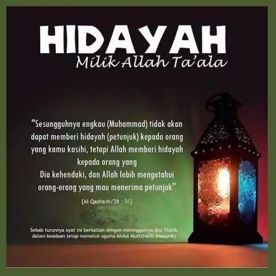 PENGERTIAN HIDAYAH ALLAH