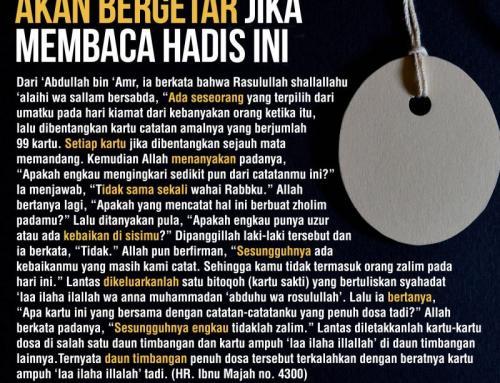 HADIS BITHAQAH (KARTU AJAIB)