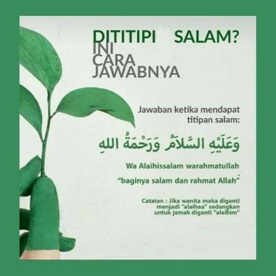 Sunnah Titip Salam Dan Cara Menjawabnya