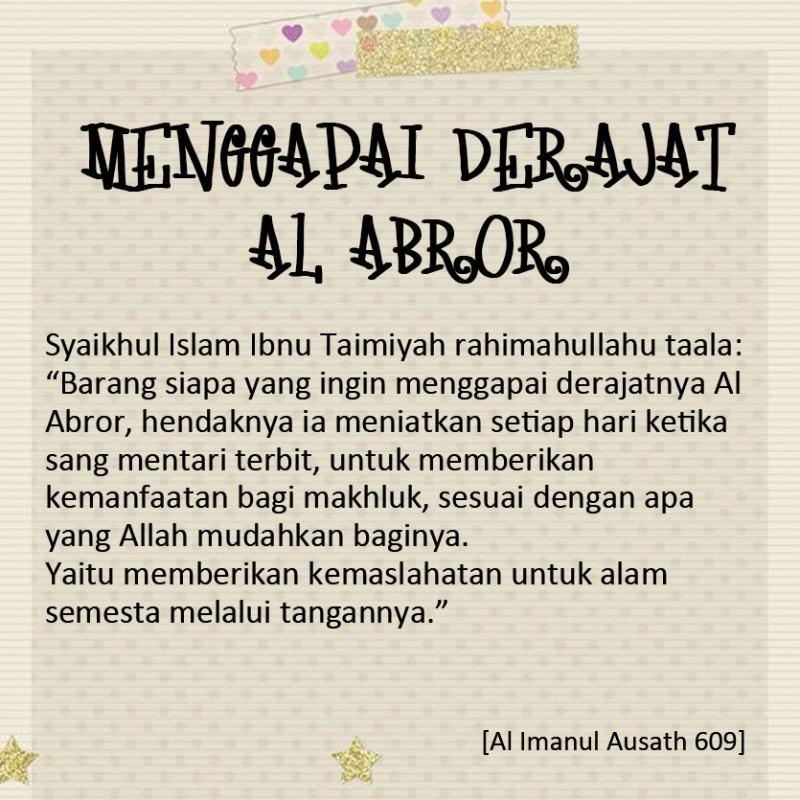 Menggapai-Derajat-Al-Abror