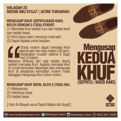 MENGUSAP KHUF (Kitab Al-Wajiz)