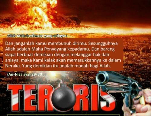 TERORISME PERBUATAN BUSUK YANG DIANGGAP JIHAD