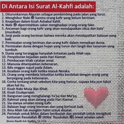 DI ANTARA ISI SURAT AL-KAHFI