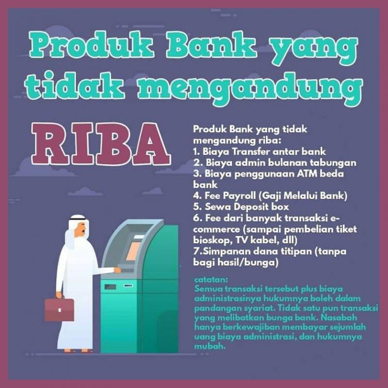 PRODUK BANK YANG TIDAK MENGANDUNG RIBA