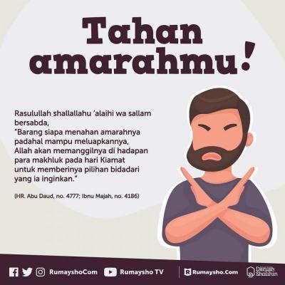 TAHAN AMARAHMU