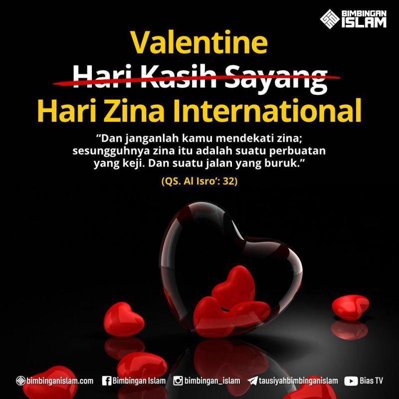VALENTINE'S DAY BUKAN HARI KASIH SAYANG INTERNASIONAL