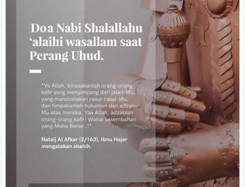 DOA NABI SHALALLAHU ALAIHI WASALLAM SAAT PERANG UHUD