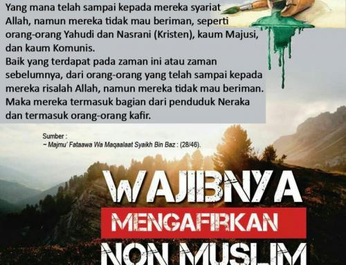 WAJIBNYA MENGAFIRKAN NON-MUSLIM
