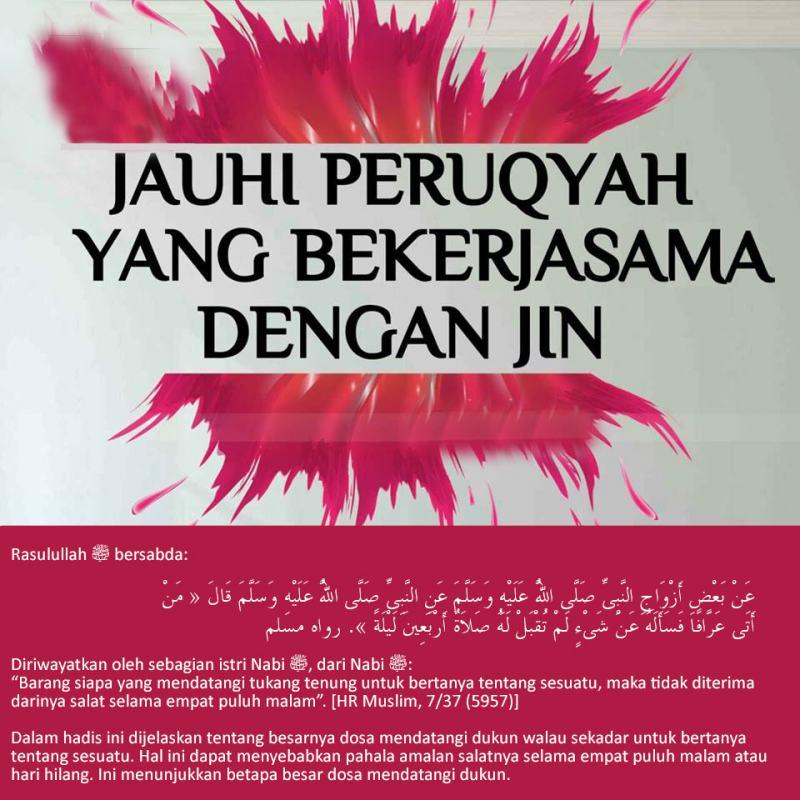 JAUHI DUKUN / PERUQYAH YANG BEKERJASAMA DENGAN JIN