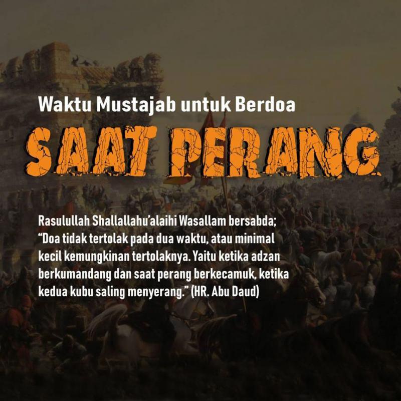DI ANTARA WAKTU MUSTAJAB BERDOA: KETIKA AZAN BERKUMANDANG ...