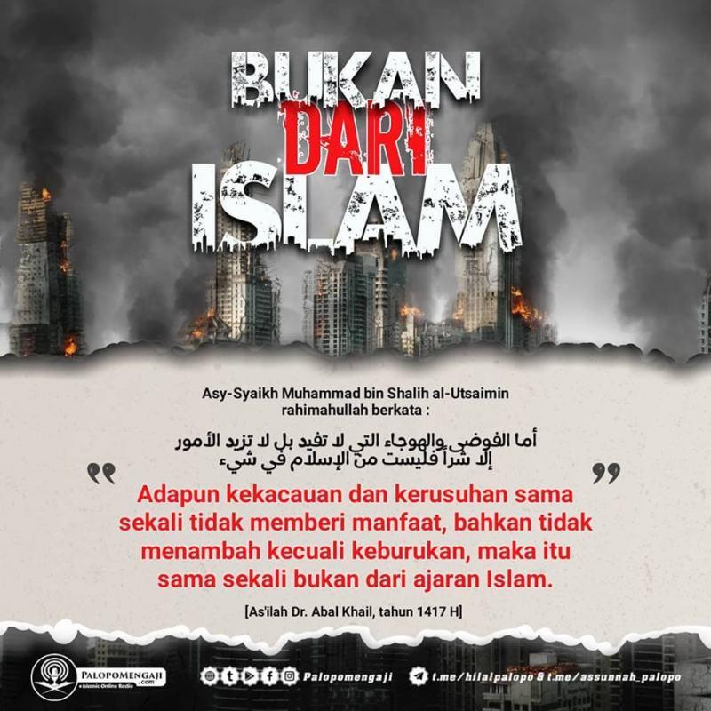 YANG JELAS BUKAN DARI ISLAM