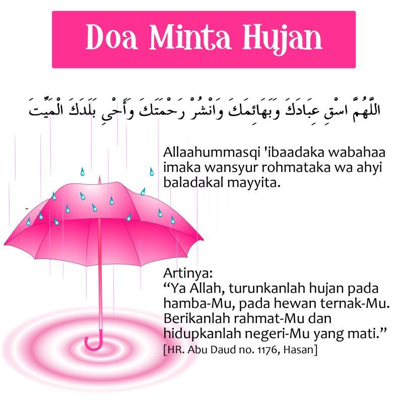 Bolehnya Doa Istisqo Meminta Hujan Dibaca