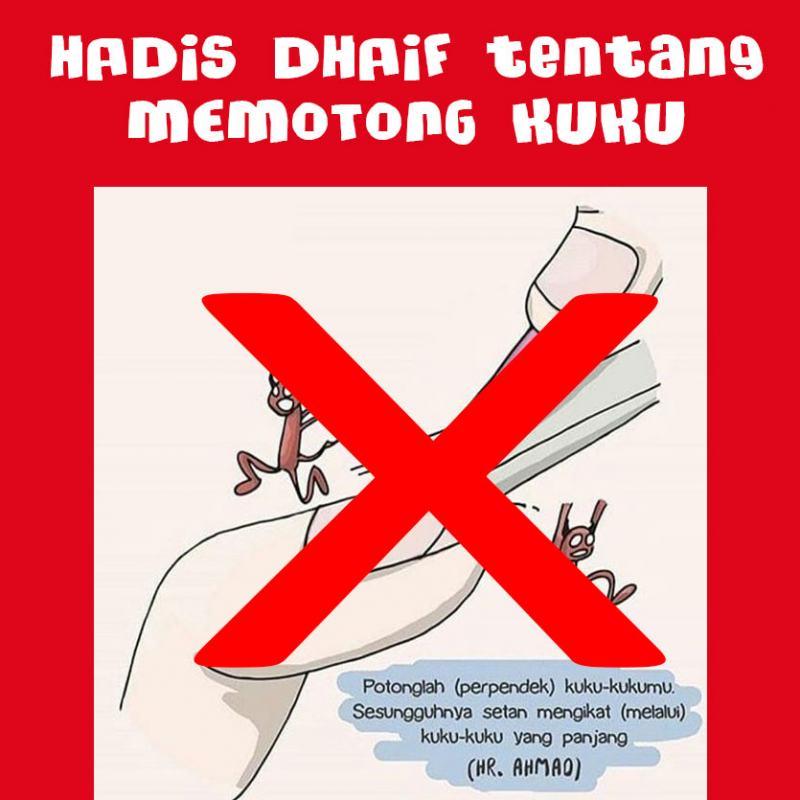 HADIS DHAIF TENTANG MEMOTONG KUKU