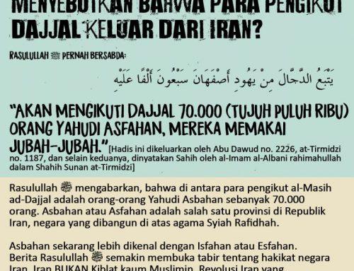 ISFAHAN, IRAN NEGERI PENGIKUT DAJJAL
