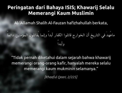 Peringatan Dari Bahaya ISIS