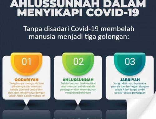 SIKAP PERTENGAHAN AHLUSSUNNAH DALAM MENGHADAPI COVID-19