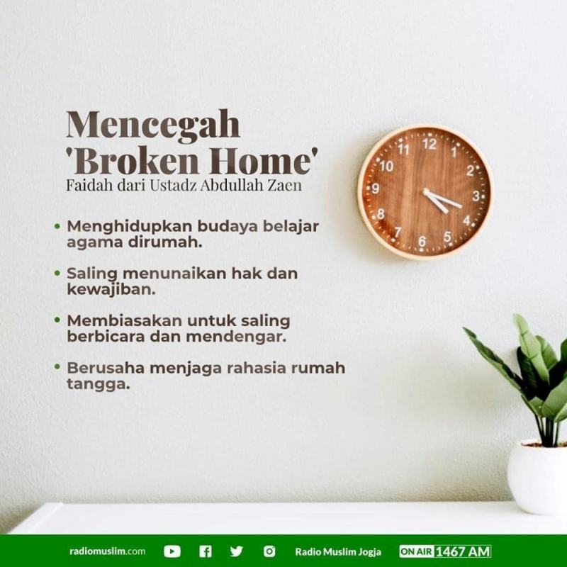 TIPS MENCEGAH BROKEN HOME