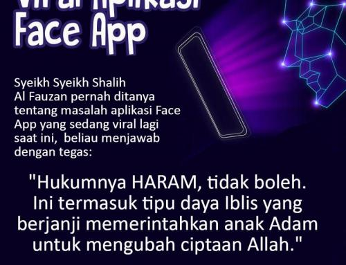 VIRAL APLIKASI FACE APP DITINJAU DARI SUDUT PANDANG SYARIAT ISLAM
