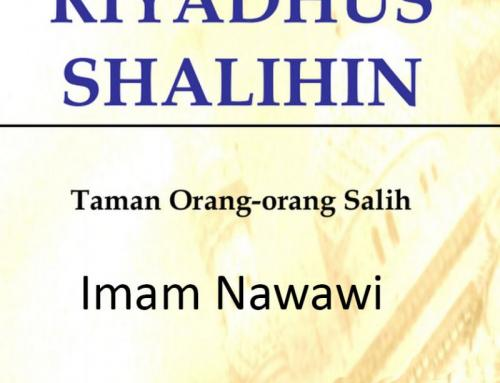 DOWNLOAD e-BOOK PDF RIYADHUS SHALIHIN BUKU 1 & 2 KARYA IMAM NAWAWI