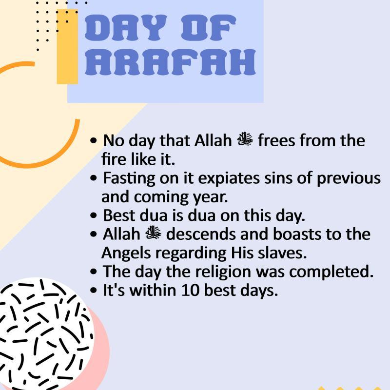ADA APA DI HARI ARAFAH?