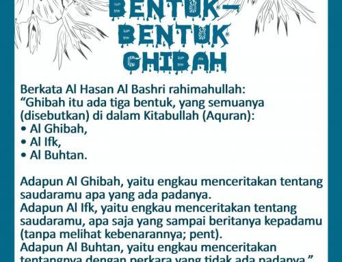 BENTUK-BENTUK GHIBAH