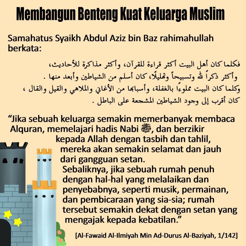 Membangun Benteng Kuat Keluarga Muslim
