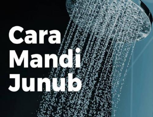 TATA CARA MANDI JANABAH SESUAI SUNNAH