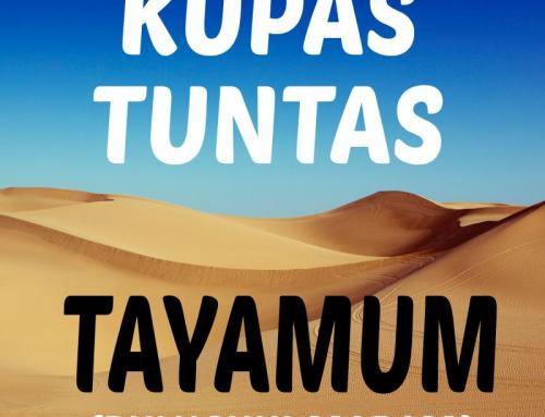 BULUGHUL MARAM TENTANG TAYAMUM (BAHAS TUNTAS)