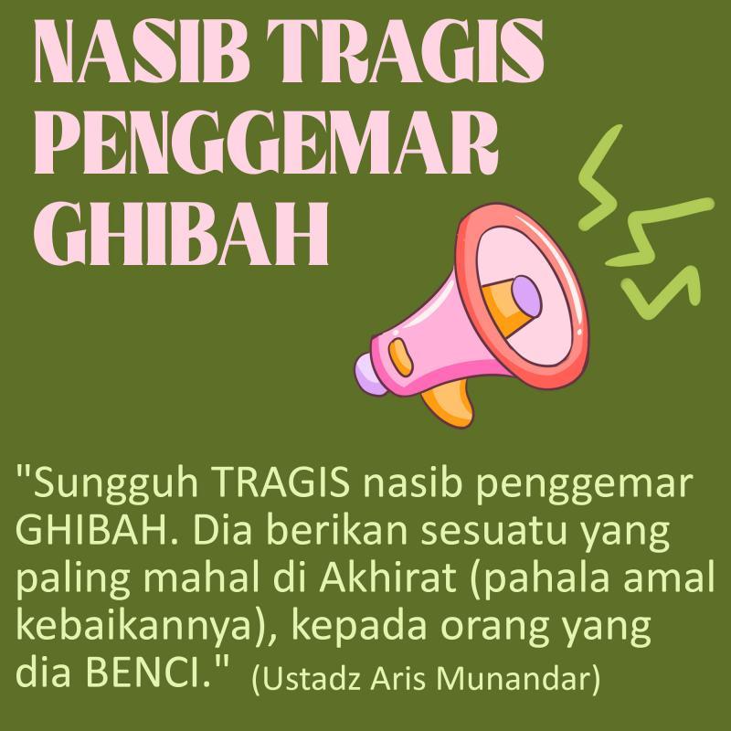 NASIB TRAGIS PENGGEMAR GHIBAH