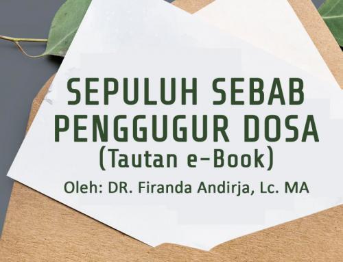 SEPULUH SEBAB PENGGUGUR DOSA (TAUTAN e-BOOK)