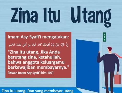 ZINA ADALAH UTANG