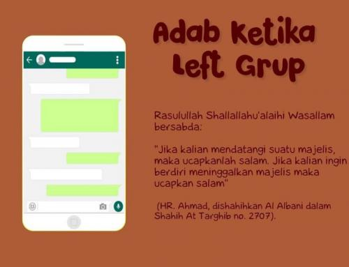 BILA KAU INGIN LEFT GROUP
