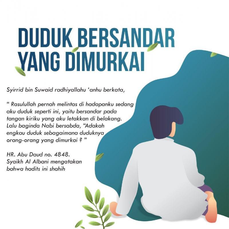 HUKUM DUDUK DENGAN BERSANDAR PADA TANGAN KIRI
