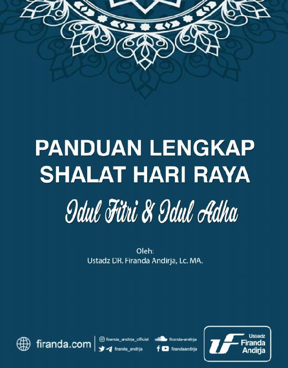 PANDUAN LENGKAP SALAT HARI RAYA (TAUTAN E-BOOK)