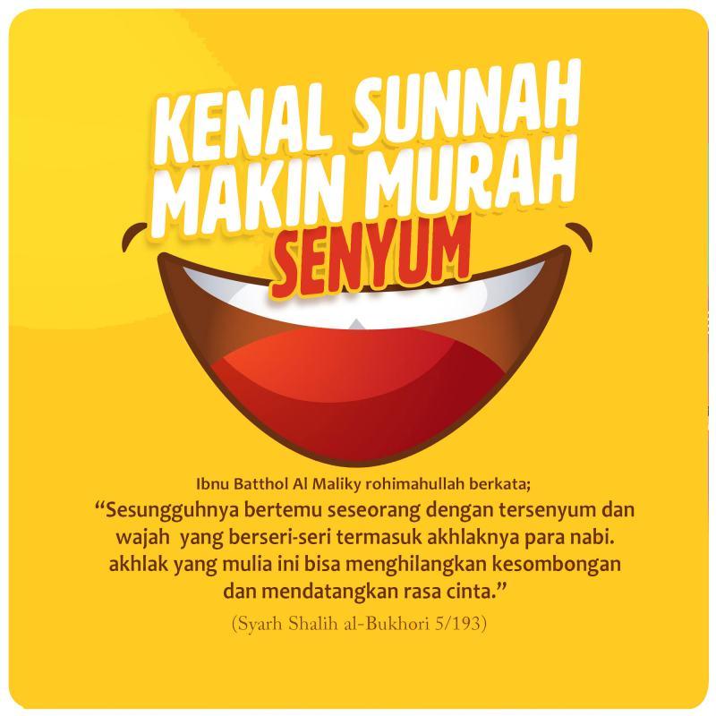 KENAL SUNNAH MAKIN MURAH SENYUM