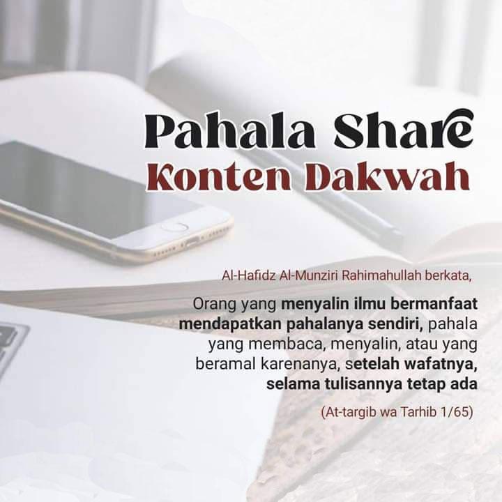PAHALA SHARE KONTEN DAKWAH