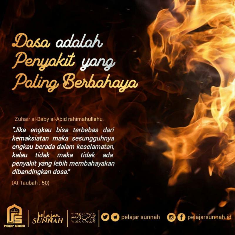 DOSA ADALAH PENYAKIT YANG PALING BERBAHAYA!
