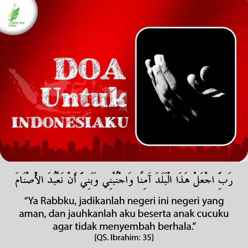 DOA UNTUK NEGERIKU INDONESIA