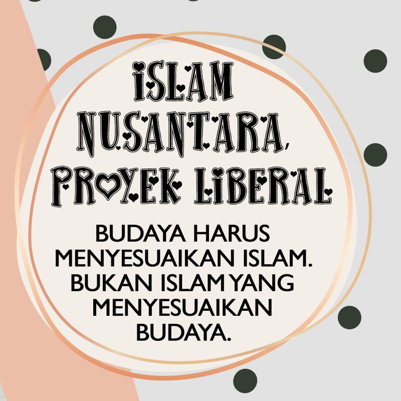 ISLAM NUSANTARA, PROYEK LIBERAL
