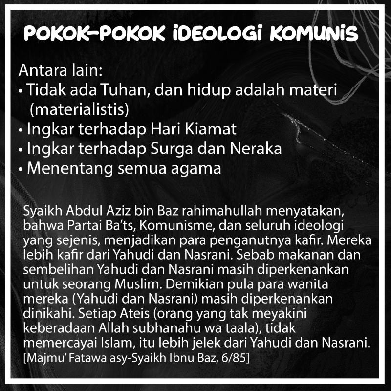 POKOK-POKOK IDEOLOGI KOMUNISME